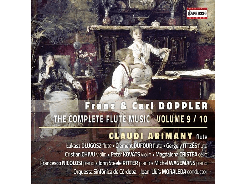 Arimany/Dlugosz/Moraleda/Orquesta Córdoba - Sämtliche Werke für Flöte Vol.9/10 [CD]