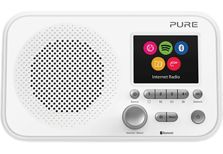 PURE DIGITAL Elan IR5 - Radio numérique (Internet radio, Blanc)
