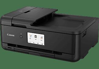 CANON Pixma TS9550 5 separate Tintentanks (PGBK, BK, C, M, Y), ChromaLife100 Tinten Multifunktionsdrucker WLAN