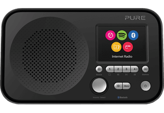 PURE DIGITAL Elan IR5 - Digitalradio (Internet radio, Schwarz)