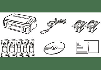 CANON Pixma G3501 2 FINE Druckköpfe mit Tinte (Schwarz und Farbe), Nachfüllbare Tintenbehältern und 2 pl (Min.)feinen Tintentröpfchen Tintenstrahldrucker WLAN