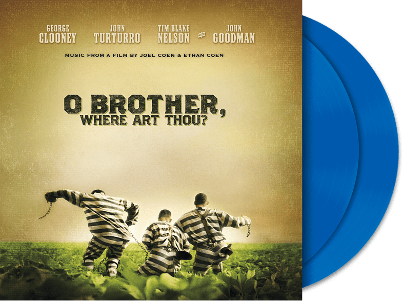 VARIOUS - O Brother Where Art Thou (Exklusive + Blaue limitierte Version) [Vinyl]
