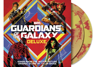 Tyler Bates - Guardians Of The Galaxy Vol. 1 Deluxe Edition (Exklusive + Rot/Gelbe limitierte Version) - (Vinyl)