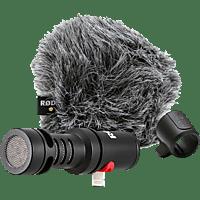 RODE VideoMic Me-L, Mikrofon, Schwarz, passend für iOS-Geräte (iPhone®/iPad®) mit Apple Lightning Connector und iOS 11 oder neuer