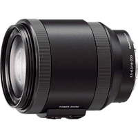 SONY SELP18200 18 mm - 200 mm f/3.5-6.3 OSS, Circulare Blende (Objektiv für Sony E-Mount, Schwarz)