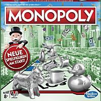 HASBRO Monopoly Classic Gesellschaftsspiel, Mehrfarbig