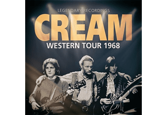 Cream - Western Tour 1968 - (CD)