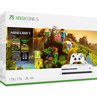 MICROSOFT Xbox One S 1TB – Minecraft Creators Bundle