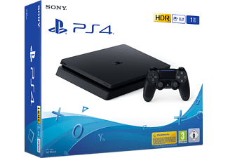 PlayStation 4 Slim 1To - Console de jeu - Jet Black