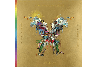 Coldplay - Live In Buenos Aires / Live In São Paulo / A Head Full Of Dreams (Film) - (CD + DVD Video)