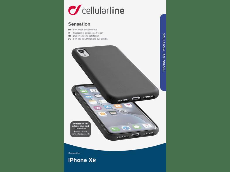 Cellular Line Iphone Xr Sensation Case Zwart Kopen Mediamarkt