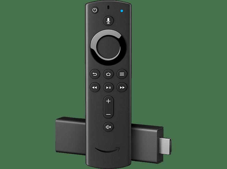 AMAZON Fire TV Stick 4K mit der neuen Alexa-Sprachfernbedienung Streaming Stick, Schwarz