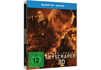 Skyscraper Steelbook Edition [3D Blu-ray (+2D)]