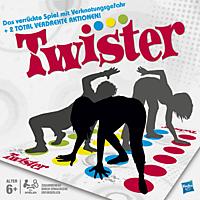 HASBRO GAMING Twister Geschicklichkeitsspiel, Mehrfarbig