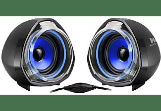 Altavoces - Woxter SO26-055 BIG BASS 70 Potencia 15W, USB, Azul