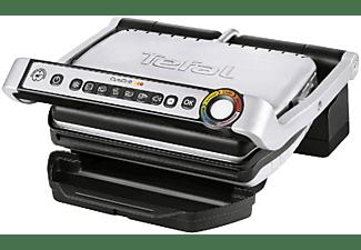 Grill - Tefal GC 712D OPTIGRILL Potencia 2000W, 7 Modos de cocción, Indicadores luminosos