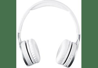 Auriculares inalámbricos - ISY IBH-2100 -WT, Bluetooth, Sensibilidad 102 dB, Blanco