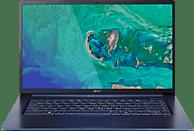 ACER Swift 5 (SF515-51T-7828), Notebook mit 15.6 Zoll Display, Core™ i7 Prozessor, 8 GB RAM, 256 GB SSD, Intel® UHD-Grafik 620, Blau