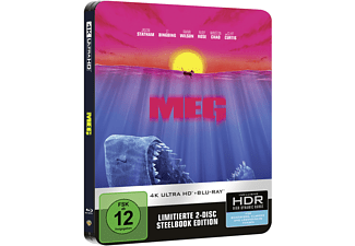 MEG Steelbook 4K Ultra HD Blu-ray + Blu-ray
