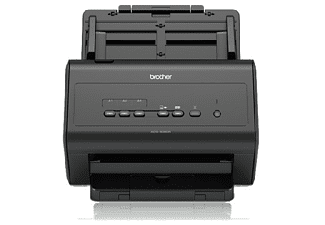 Escáner - Brother ADS-3000N, 1200x1200 ppp, 50ppm,  Doble cara, varios usuarios, Negro