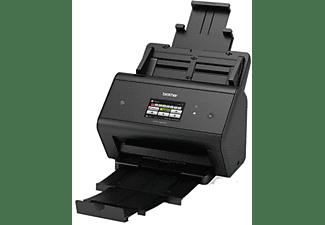 Escáner - Brother ADS-3600W, 1200x1200, 50ppm, WiFi,  doble cara, varios usuarios, pantalla, Negro
