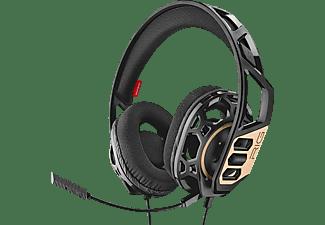 NACON PL052166 RIG 300 - PC Version, Over-ear Kopfhörer Schwarz/Gold