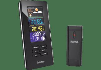 Estación meteorológica - Hama 00136294, Visualización del pronostico del tiempo, 2 alarmas,