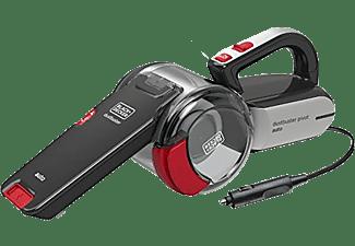 Aspirador de mano - Black & Decker PV1200AV, Apto para coche, Ciclónico, 12V, 0,44l, Negro, rojo y gris
