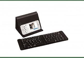 Teclado Inalámbrico - Silver HT, bluetooth, ideal para Smartphone y Tablet