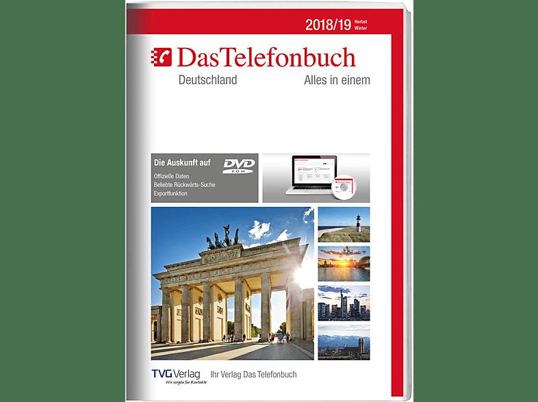 Das Telefonbuch. Deutschland Herbst/Winter 2018/19