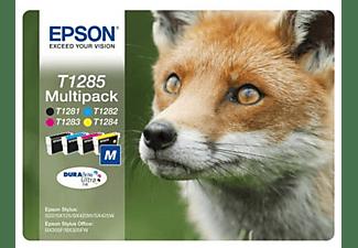 Cartucho de tinta - Epson C13T12854020 CT4CL Pack zorro BL+RF