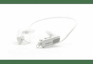 MP3 acuático - Sunstech Triton, 4GB, Sumergible 3 metros, Blanco