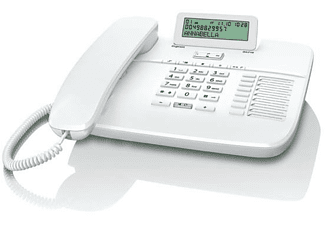 Teléfono - Gigaset DA710B blanco con manos libres