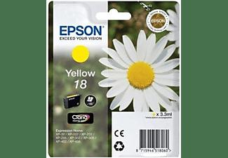 Cartucho de tinta - Epson 18, amarillo