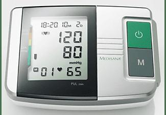 Tensiómetro - Medisana 51152 MTS, Para brazo, Pantalla LCD, 2 x 60 espacios de memoria