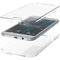 AGM 27334 , Full Cover, Samsung, Galaxy S9, Silikon, Transparent