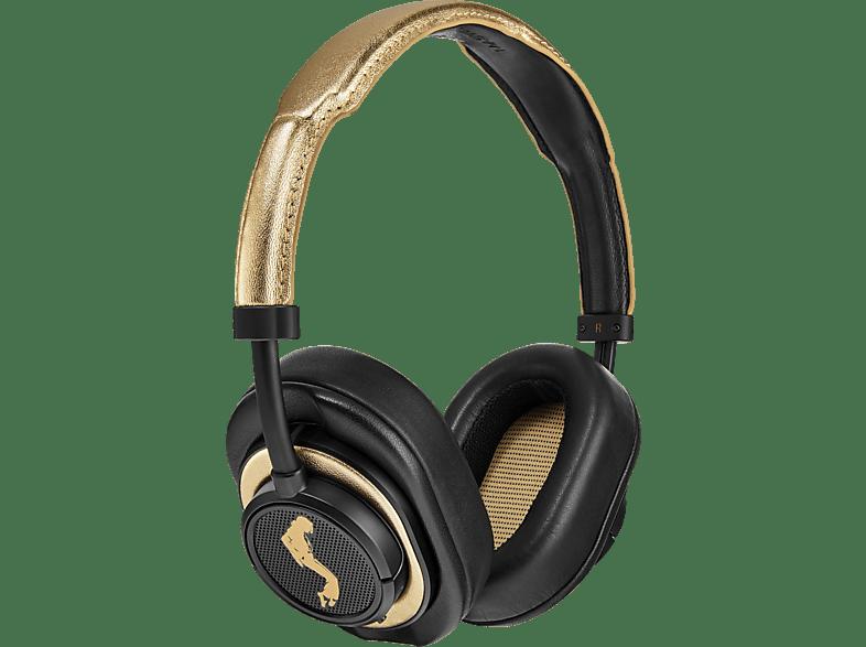 MASTER & DYNAMIC MW50+ MJ Edition, Over-ear Bluetooth-Kopfhörer Bluetooth MJ Gold