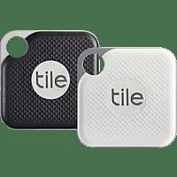 TILE Pro Black/White 2er Combo Bluetooth Tracker 1x Schwarz / 1x Weiß