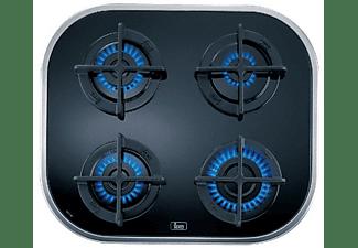 Encimera - Teka 10205283 CG.1 4G-AI-AL Gas natural, 4 quemadores  Sin mandos, gama polivalente