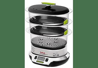 Vaporera - Tefal VS400333 Potencia 2000W, Capacidad 9L, Display LCD, Temporizador de 60 min