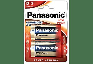 Pilas LR20 - Panasonic LR20 Pro Power, 2 uds