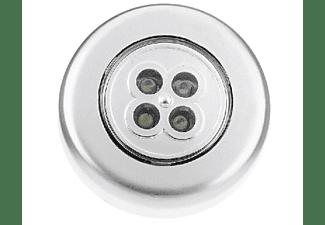 Luz de noche - Clener 1213 LED, pilas, Gris