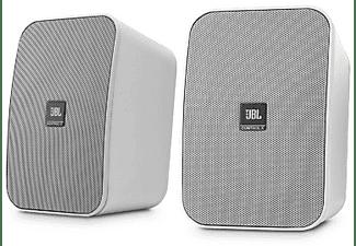 Altavoces de exterior - JBL Control X Blanco, Pareja, 87 dB, Alámbrico, 2 vías