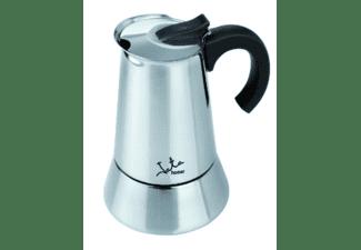 Cafetera Jata Cax106 Odin, 6 tazas, Apta inducción, Acero inoxidable