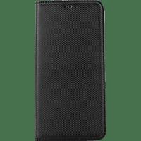 AGM Magnet , Bookcover, Huawei, Mate 20 Pro, Obermaterial Kunstleder, thermoplastisches Polyurethan und Kunststoff, Schwarz