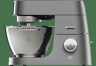 KENWOOD Chef Titanium KVC7300S Küchenmaschine Silber (Rührschüsselkapazität: 4,6 Liter, 1500 Watt)