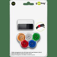 GOOBAY Kabel Management Klettverschluss, Mehrfarbig