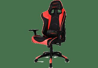 Silla gaming - Drift DR300, Reposabrazos 3D, Pistón clase 4, Asiento basculante, Rojo