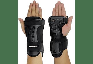 Protector de muñeca y manos - Kawasaki KXPC02, Talla M, Negro