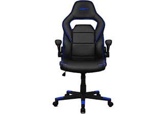 Silla Gaming - Drift DR75, Inclinable 15º, Reposabrazos regulable, Negro y azul